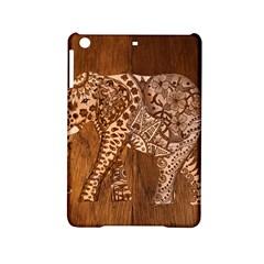 Elephant Aztec Wood Tekture iPad Mini 2 Hardshell Cases
