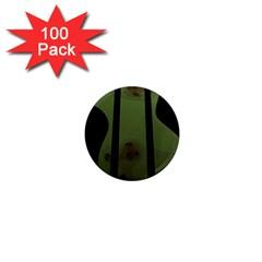 Fractal Prison 1  Mini Magnets (100 pack)