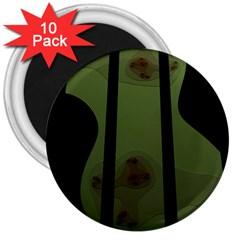 Fractal Prison 3  Magnets (10 pack)