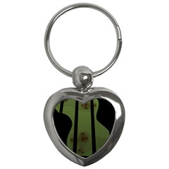 Fractal Prison Key Chains (Heart)