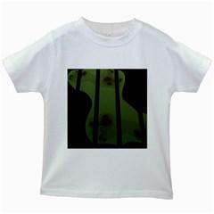 Fractal Prison Kids White T-Shirts