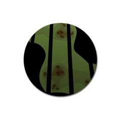 Fractal Prison Magnet 3  (Round)