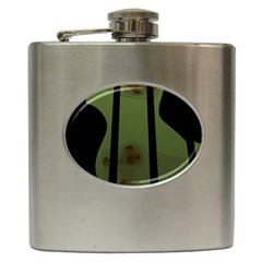 Fractal Prison Hip Flask (6 oz)