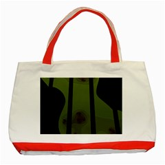 Fractal Prison Classic Tote Bag (Red)