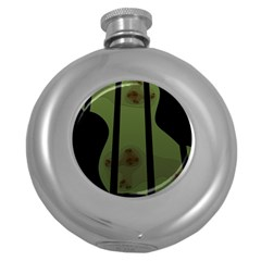 Fractal Prison Round Hip Flask (5 oz)