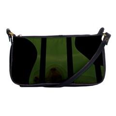 Fractal Prison Shoulder Clutch Bags