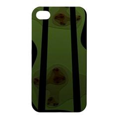 Fractal Prison Apple Iphone 4/4s Hardshell Case