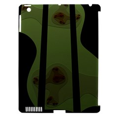 Fractal Prison Apple iPad 3/4 Hardshell Case (Compatible with Smart Cover)