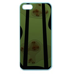 Fractal Prison Apple Seamless iPhone 5 Case (Color)