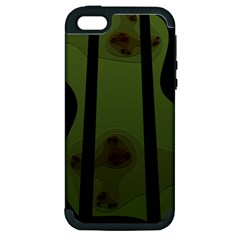 Fractal Prison Apple iPhone 5 Hardshell Case (PC+Silicone)