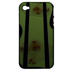 Fractal Prison Apple iPhone 4/4S Hardshell Case (PC+Silicone)