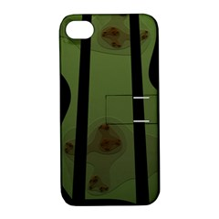 Fractal Prison Apple iPhone 4/4S Hardshell Case with Stand