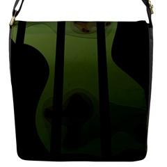 Fractal Prison Flap Messenger Bag (S)