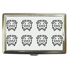 Animal Bison Grey Wild Cigarette Money Cases