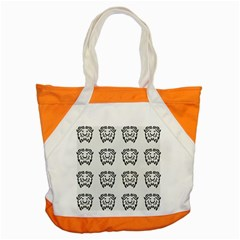 Animal Bison Grey Wild Accent Tote Bag