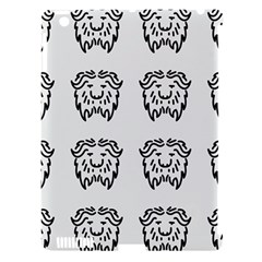 Animal Bison Grey Wild Apple Ipad 3/4 Hardshell Case (compatible With Smart Cover)