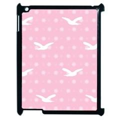 Wallpaper Same Palette Pink Star Bird Animals Apple iPad 2 Case (Black)