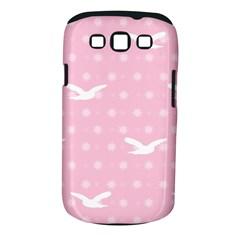 Wallpaper Same Palette Pink Star Bird Animals Samsung Galaxy S III Classic Hardshell Case (PC+Silicone)