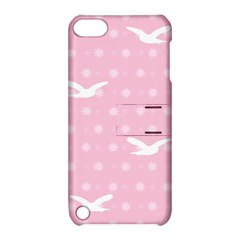 Wallpaper Same Palette Pink Star Bird Animals Apple Ipod Touch 5 Hardshell Case With Stand