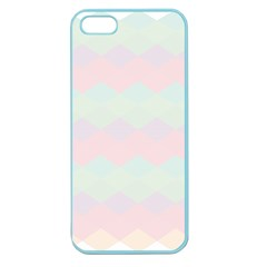 Argyle Triangle Plaid Blue Pink Red Blue Orange Apple Seamless Iphone 5 Case (color)