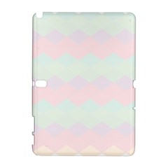 Argyle Triangle Plaid Blue Pink Red Blue Orange Galaxy Note 1