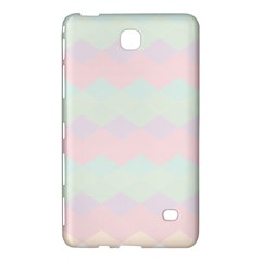 Argyle Triangle Plaid Blue Pink Red Blue Orange Samsung Galaxy Tab 4 (7 ) Hardshell Case