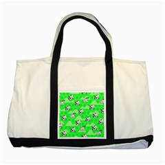 Animals Cow Home Sweet Tree Green Two Tone Tote Bag