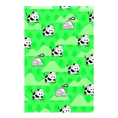 Animals Cow Home Sweet Tree Green Shower Curtain 48  x 72  (Small)