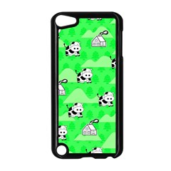 Animals Cow Home Sweet Tree Green Apple Ipod Touch 5 Case (black)