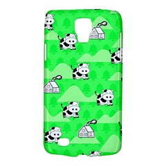 Animals Cow Home Sweet Tree Green Galaxy S4 Active