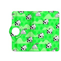 Animals Cow Home Sweet Tree Green Kindle Fire HDX 8.9  Flip 360 Case