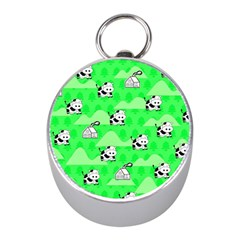 Animals Cow Home Sweet Tree Green Mini Silver Compasses