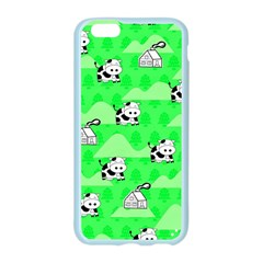 Animals Cow Home Sweet Tree Green Apple Seamless iPhone 6/6S Case (Color)