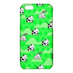 Animals Cow Home Sweet Tree Green iPhone 6/6S TPU Case