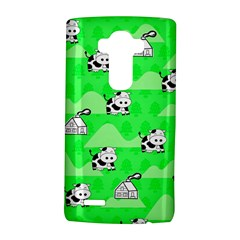 Animals Cow Home Sweet Tree Green LG G4 Hardshell Case