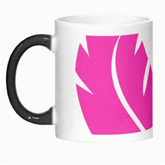 Bird Feathers Star Pink Morph Mugs