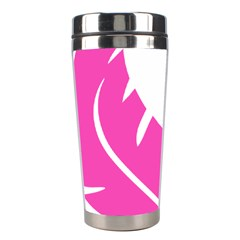 Bird Feathers Star Pink Stainless Steel Travel Tumblers