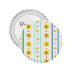 Beans Flower Floral Yellow 2 25  Buttons