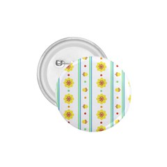 Beans Flower Floral Yellow 1.75  Buttons