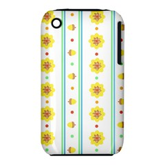 Beans Flower Floral Yellow iPhone 3S/3GS