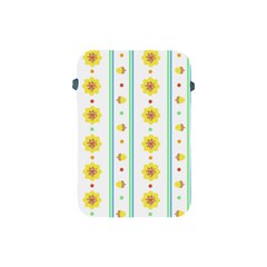 Beans Flower Floral Yellow Apple iPad Mini Protective Soft Cases