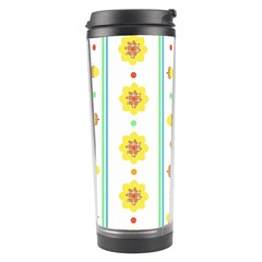 Beans Flower Floral Yellow Travel Tumbler