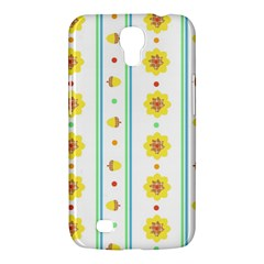 Beans Flower Floral Yellow Samsung Galaxy Mega 6.3  I9200 Hardshell Case