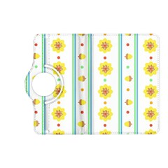 Beans Flower Floral Yellow Kindle Fire HD (2013) Flip 360 Case