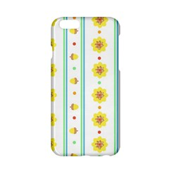 Beans Flower Floral Yellow Apple iPhone 6/6S Hardshell Case