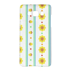 Beans Flower Floral Yellow Samsung Galaxy A5 Hardshell Case