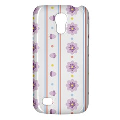 Beans Flower Floral Purple Galaxy S4 Mini