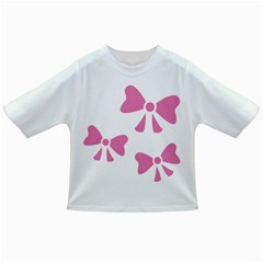 Bow Ties Pink Infant/Toddler T-Shirts