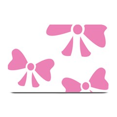 Bow Ties Pink Plate Mats