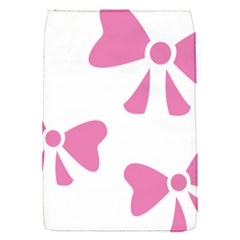 Bow Ties Pink Flap Covers (S)
